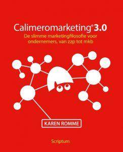 Calmeromarketing 3.= Karen Romme ondernemersboeken marketing