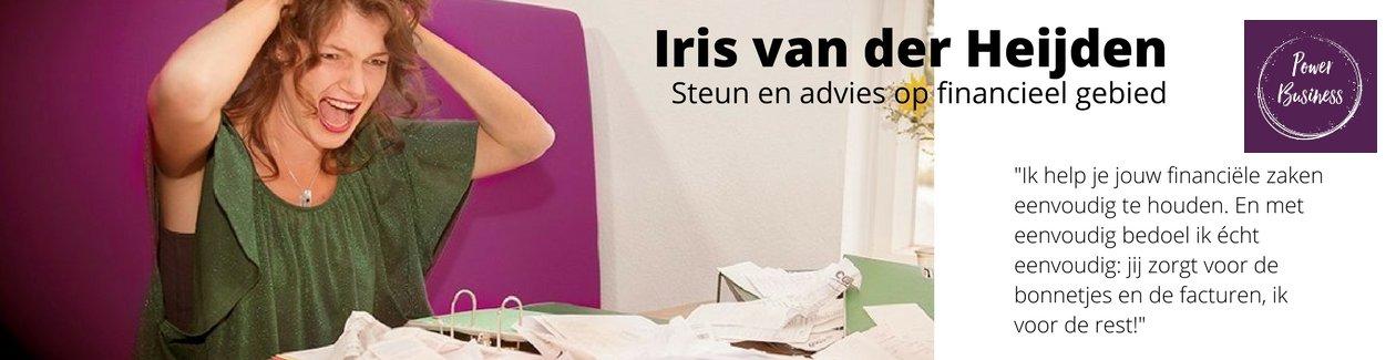 Groei! Iris van der Heijden Ondersteuning en advies op financieel gebied, Powerbusiness
