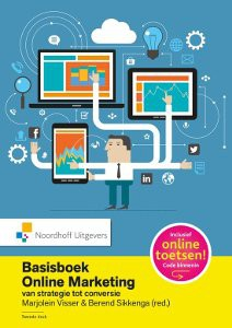 BAsisboek online marketing van MArjolein Visser Marketing marketingboeken, Online marketing