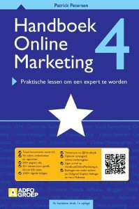 Handboek Online MArketing 4.0 van PAtrick Petersen Marketing boeken