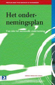 Het ondernemingsplan van idee tot succesbedrijf