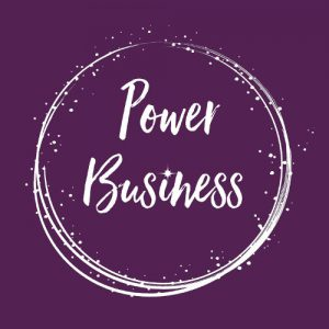 logo Powerbusiness Financieel business coach Iris van der Heijden
