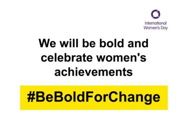 Internationale Vrouwendag 2017 Be bold for change