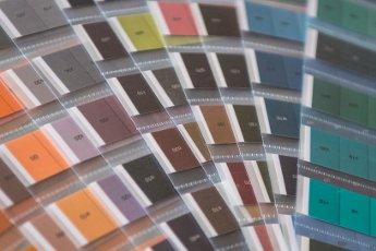 Het eerste jaar van Larinda Bok Unique Kleur en Stijl kleurenpalet