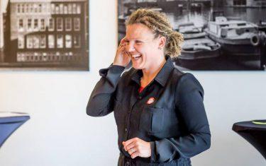 Watch out World, Sandra de Haan, I'm a VIP at Vertelschool Rotterdam