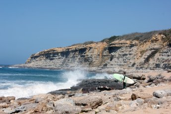 Het eerste jaar van Darcie Paardekooper Ola Onda Guesthouse Ericeira Portugal surf matadouro