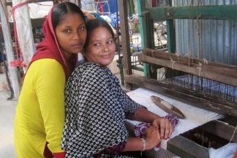 In gesprek met Margot Lieftinck van Tulsi Crafts, handweven van jute tangail bangladesh