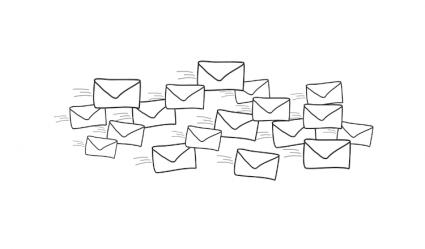 Snel door je volle mailbox heen