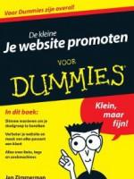 Boeken marketing en online ondernemen De kleine je website promoten voor dummies Jan Zimmerman
