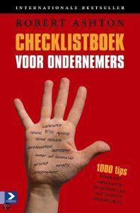 Checklistboek voor ondernemers van Robert Ashton