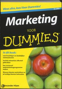 MArketing voor dummies, Alexander Hiam, marketing boeken