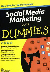 Social meida boeken, social media marketing vor dummies, boeken