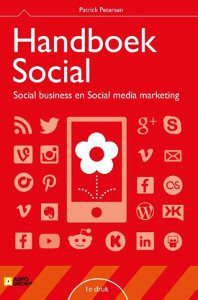Boeken social meida, handboek social patrick petersen