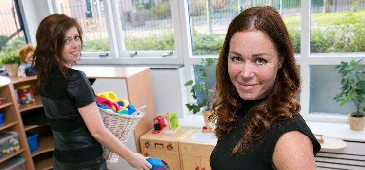 Dominique Reincke, Simone LUnenburg, Klein maar Dapper, kinderopvang, peuterspeelzaal