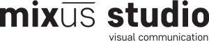 Logo Mixus studio grafisch ontwerpbureau Rotterdam