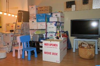 Voorbereiding van een verhuizing Toffelinterieuradvies én verhuisadvies, Sharon Kuipers, Watch out World, here she comes