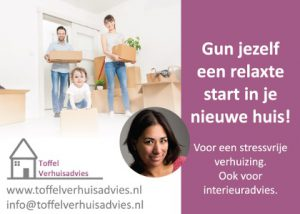 Advertentie Toffel Interieuradvies, I'm a VIP, Sharon Kuipers