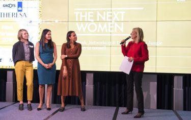 TheNextWomen Pitch Competitie 2018, Simone Brummelhuis, Award winaars en oprichtsters van Isbel &Co, Khaleelah Jones