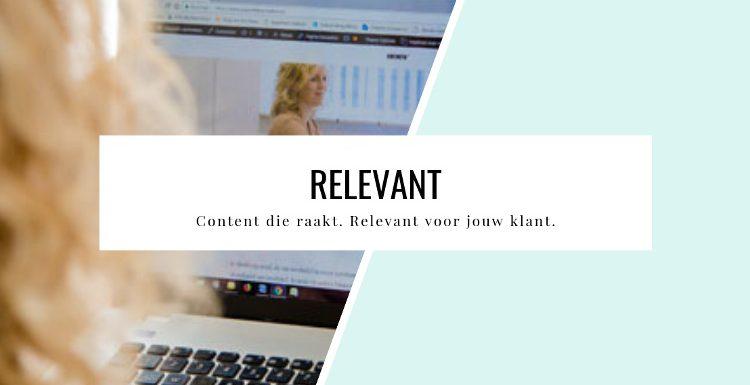 Relevant content die raakt online training Gwyneth Leermakers