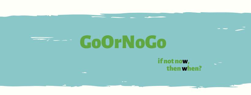 Big5 GoOrNoGo If not now then when? Starterstraject vrouwen-ondernemen.nl informatiepagina GoOrNoGo