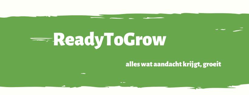 Big5ReadyToGrow Alles wat aandacht krijgt, groeit Starterstraject vrouwen-ondernemen.nl informatiepagina ReadytoGrow